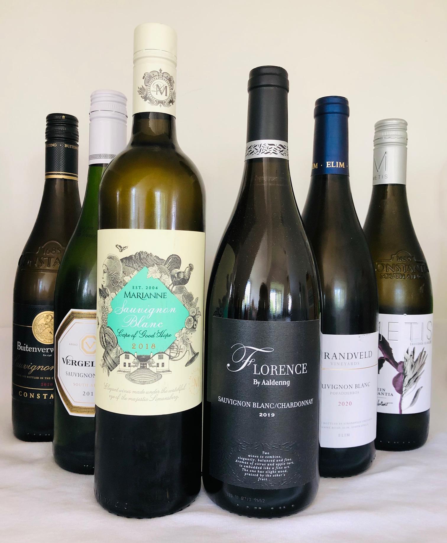 südafrikanische Sauvignon Blanc`s Probierpaket